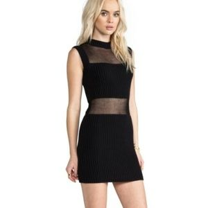 Somedays Lovin Parallels Block Knit Party Dress XS